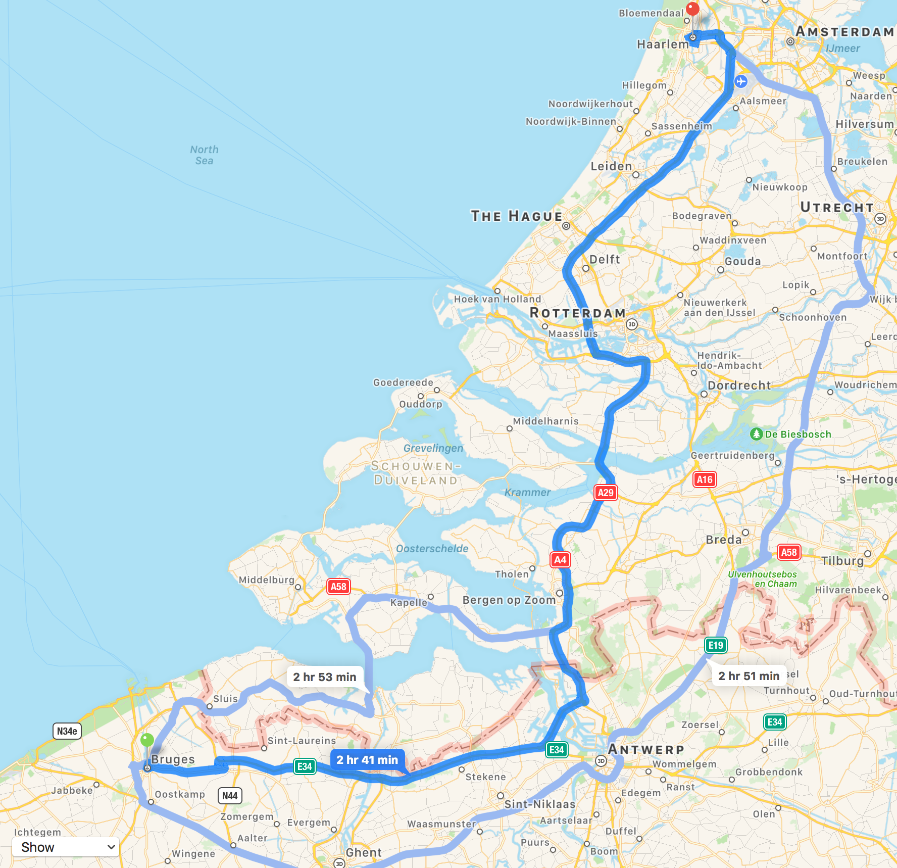 We Were Driven By Geo Former Statin Fence Sitter From Bruges To Haarlem A City Of 150000 Which Lies About 15 Km West Amsterdam And 5 East