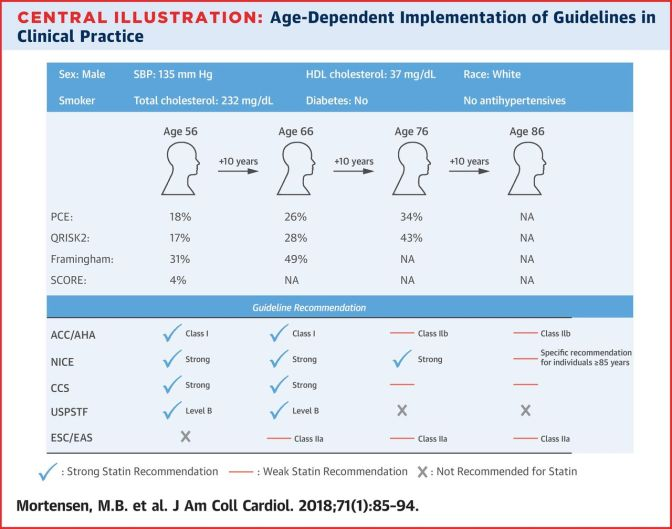 Should You Take A Statin If You Are Over 75?: The Value of DeRisking in The Elderly